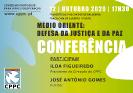 Conferência | Médio Oriente | Defesa da Justiça e da Paz_1